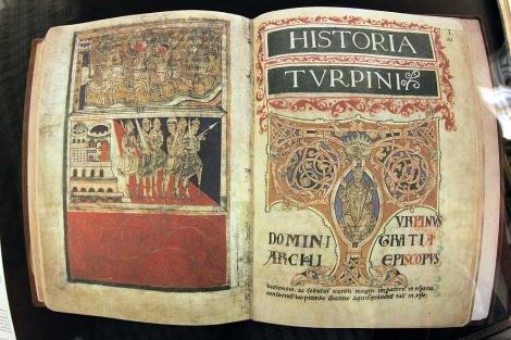Edición facsímil del Códice Calixtino. | Efe