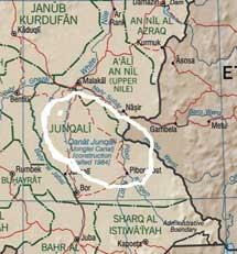 Mapa de la migración del cobo y el topi.
