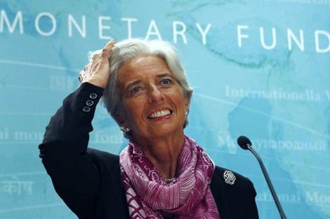 Christine Lagarde, recién nombrada directora gerente del FMI. | Reuters
