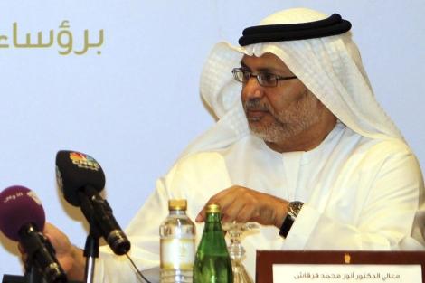 El ministro de Estado de Emiratos Árabes Unidos, Mohammed Gargash. | Efe