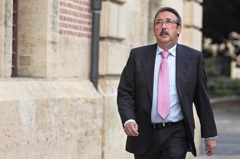 El sastre José Tomás, acude a declarar al TSJ de Valencia. | Efe