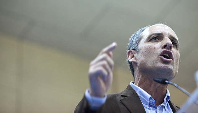 El presidente de la Generalitat Valenciana, Francisco Camps. | Foto: Vicent Bosch