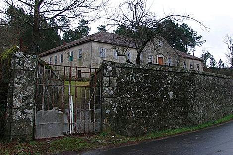 La escuela Concepción Yáñez, de 1935, en Ramirás (Ourense). | Consello da Cultura Galega