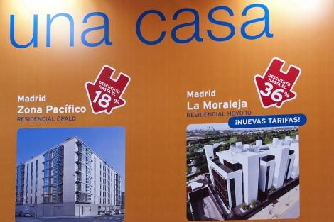 Descuentos inmobiliarios en el último Salón Inmobiliaro de Madrid.   Bernardo Díaz
