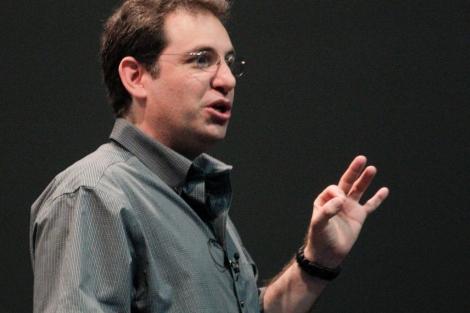 Kevin Mitnick, durante su conferencia en la Campus Party. | Efe