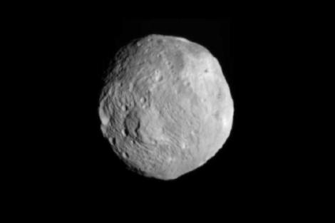 Imagen del asteroide Vesta tomada el pasado 9 de julio. | NASA.