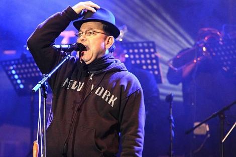 Rubén Blades durante el concierto. | Pilar Hurtado