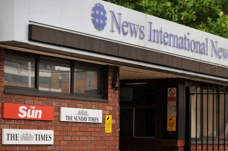 Sede de News International en Londres.| Afp