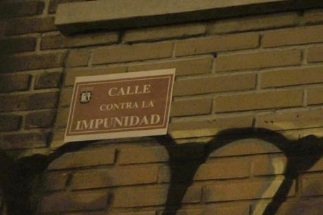 El Paseo del Doctor Vallejo Nájera tras el cambio de nomenclatura.