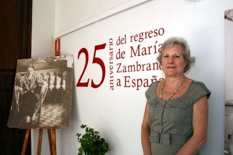 Carmen Negrín en Vélez Málaga. | Romero