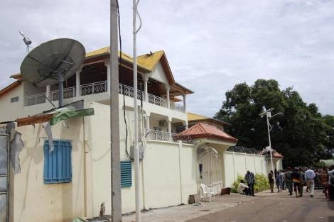 La residencia del presidente guineano Alpha Conde. | Reuters