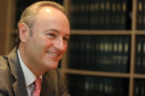 El alcalde de Castellón, Alberto Fabra. | Eugenio Torres