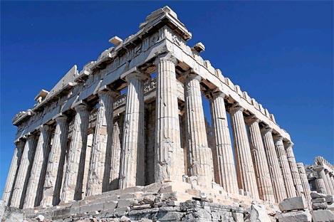 Ruinas del Partenón griego