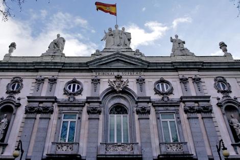 Fachada de la sede del Tribunal Supremo en Madrid.   Alberto Di Lolli