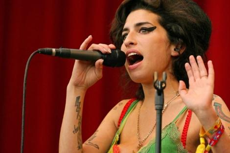 Amy Winehouse, en 2007.   Afp