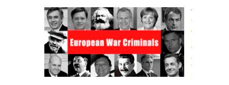 Los 'criminales de guerra europeos' señalados en el manifiesto.