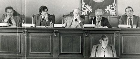 Intervención en la primera legislatura como portavoz del PSdeG-PSOE (ECG). | El Correo Gallego