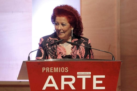 Consuelo Císcar en la III edición de los premios 'Descubrir el arte'   José Ayma