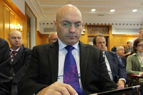 Javier Gómez Bermúdez, en los cursos de la UIMP de Santander. | David S. Bustamante
