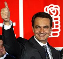 Victoria de Zapatero en 2004. | Reuters