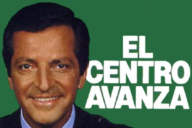 Cartel electorial de Adolfo Suárez en unas de las primeras elecciones de la democracia.