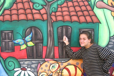 Bea Villaroya, una de las seleccionadas en el libro de relatos.