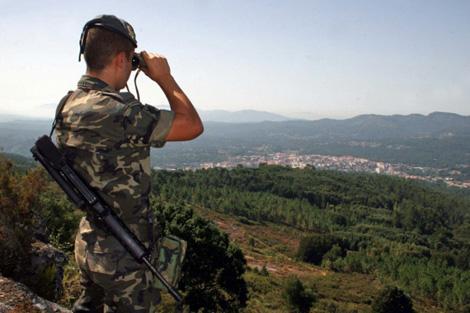 El Ejército ha desplegado 23 patrullas en suelo gallego. | R.G.