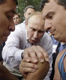 El primer ministro ruso, Vladimir Putin   AP