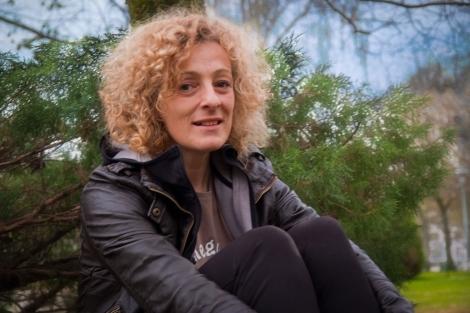 A profesora Teresa Moure. | Eduardo Castro Bal (AELG)
