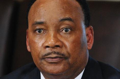 El presidente de Níger, Mahamadou Issoufou. | Afp