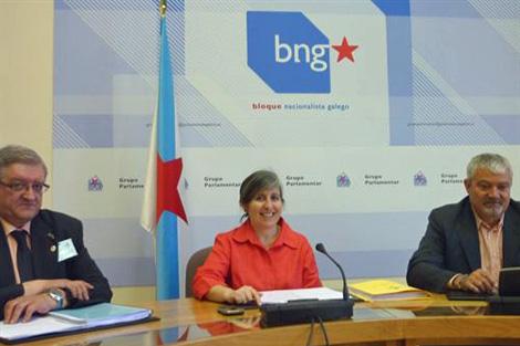La diputada nacionalista, María Luisa Bouza.   BNG