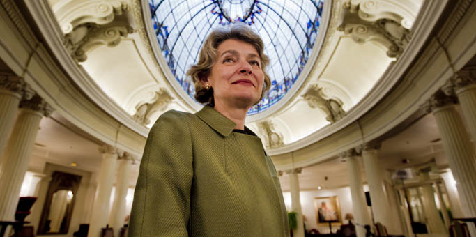 La directora general de la Unesco, Irina Bokova.   Iñaki Andrés