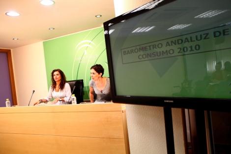 La consejera de Salud, María Jesús Montero, presenta el estudio. | Jesús Morón