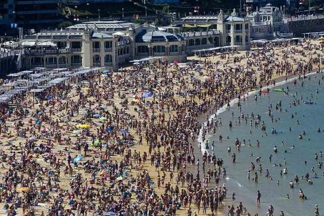 Eligen a La Concha entre las cinco mejores playas urbanas del mundo | País  Vasco | elmundo.es