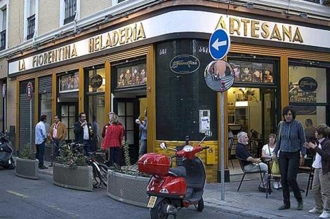 Heladería 'La Fiorentina', situada en la calle Zaragoza. | EM