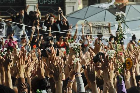 Asamblea en la Puerta del Sol. | Gonzalo Arroyo