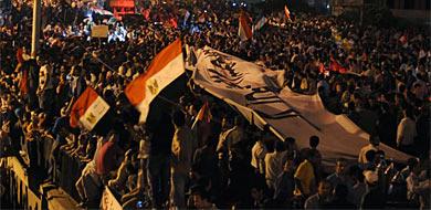 Cientos de personas han marchado por las calles de la capital. | Afp