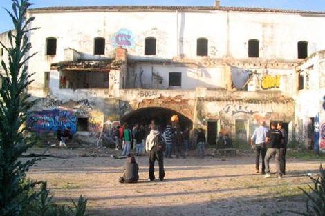 'El monasterio', en los aledaños de Perales del Río, donde se celebró la 'rave' este sábado
