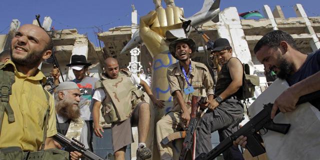 Rebeldes en la capitral libia | Afp