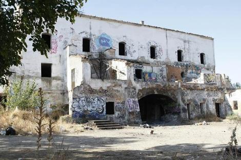 Imagen del monasterio de la Aldehuela. (Efe)