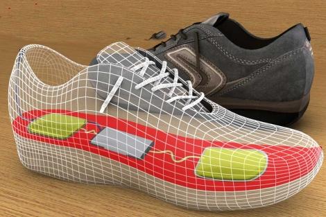 El dispositivo se puede colocar en el interior del zapato. | InStep NanoPower.