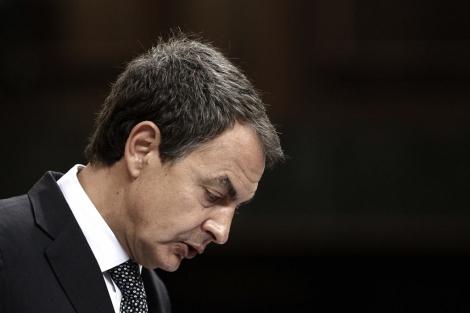 José Luis R. Zapatero abría el debate sobre las reformas del Gobierno. | EFE