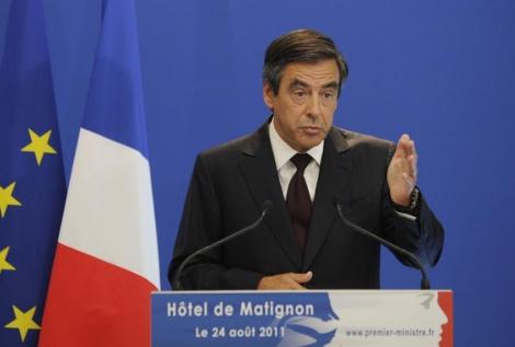 el primer ministro francés, François Fillon, en un acto. | Ap