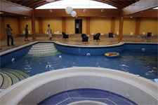 La piscina cubierta. | AP