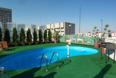 Atico con piscina en Chamartín (Madrid) valorado en 3,8 millones.   ELMUNDO.es