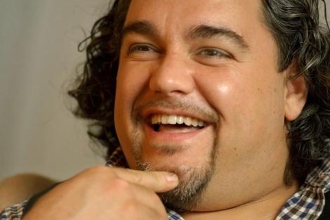 Salvatore Licitra, durante una entrevista en Nueva York. | EL MUNDO