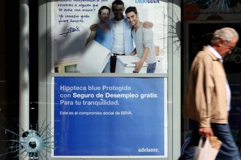 Campaña publicitaria para comercializar hipotecas de un banco español. | José Aymá