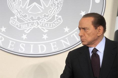 El primer ministro italiano, Silvio Berlusconi | EFE