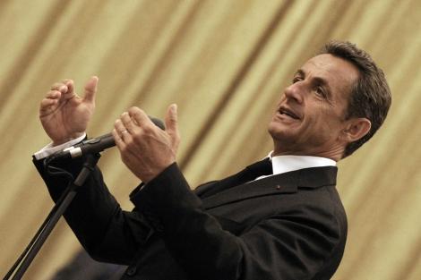 El presidente francés, Nicolas Sarkozy.   Efe