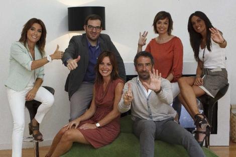 El equipo de informativos | Foto: La Sexta